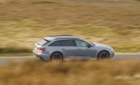 2020 Audi RS 6 Avant (UK-Spec) Side Wallpapers 450x275 (53)
