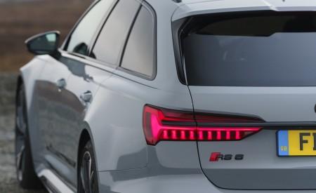 2020 Audi RS 6 Avant (UK-Spec) Tail Light Wallpapers 450x275 (94)