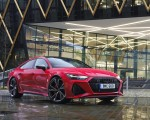2020 Audi RS 7 Sportback (UK-Spec) Front Three-Quarter Wallpapers 150x120 (38)