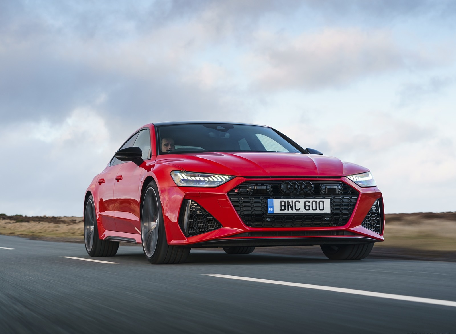 2020 Audi RS 7 Sportback (UK-Spec) Front Wallpapers (1)