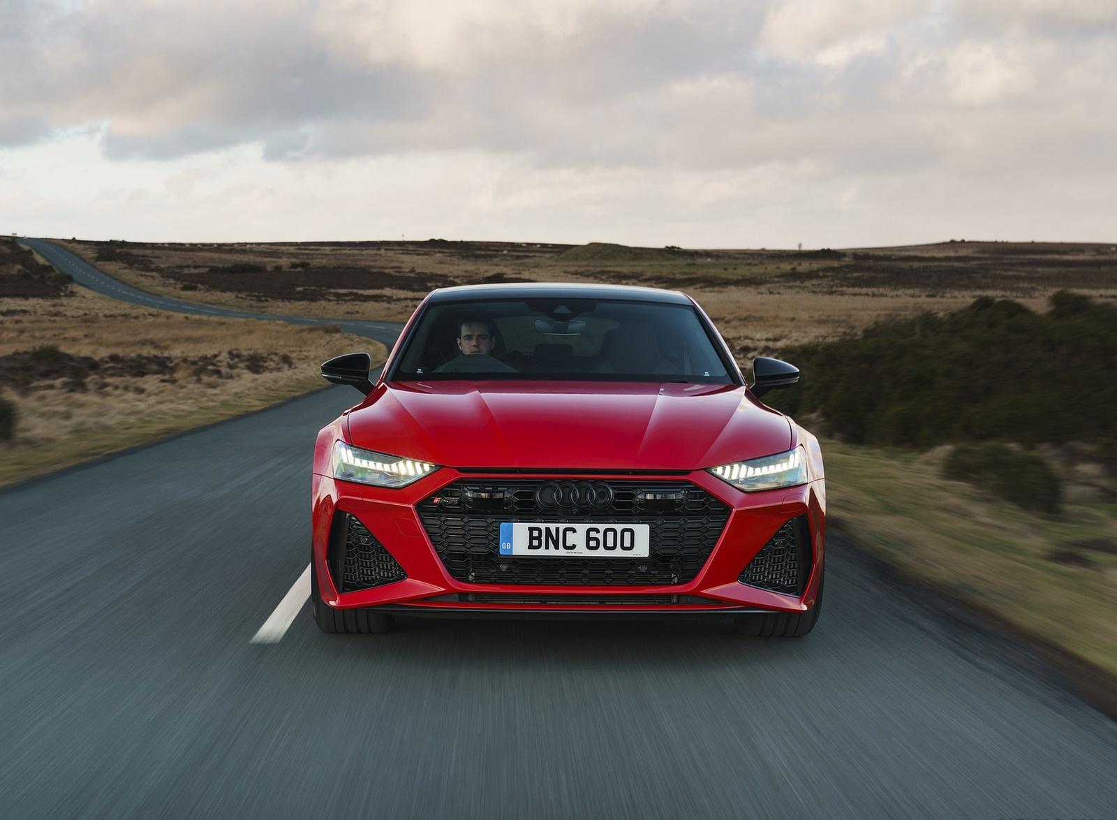 2020 Audi RS 7 Sportback (UK-Spec) Front Wallpapers (9)