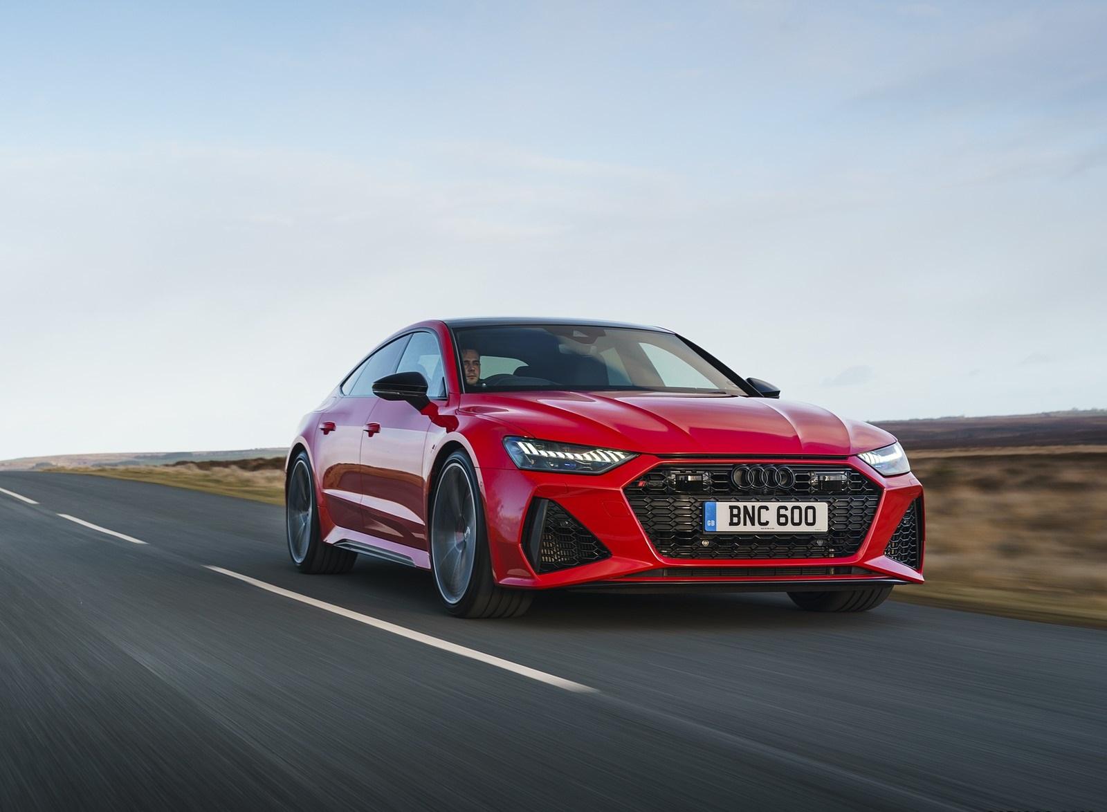 2020 Audi RS 7 Sportback (UK-Spec) Front Wallpapers (10)