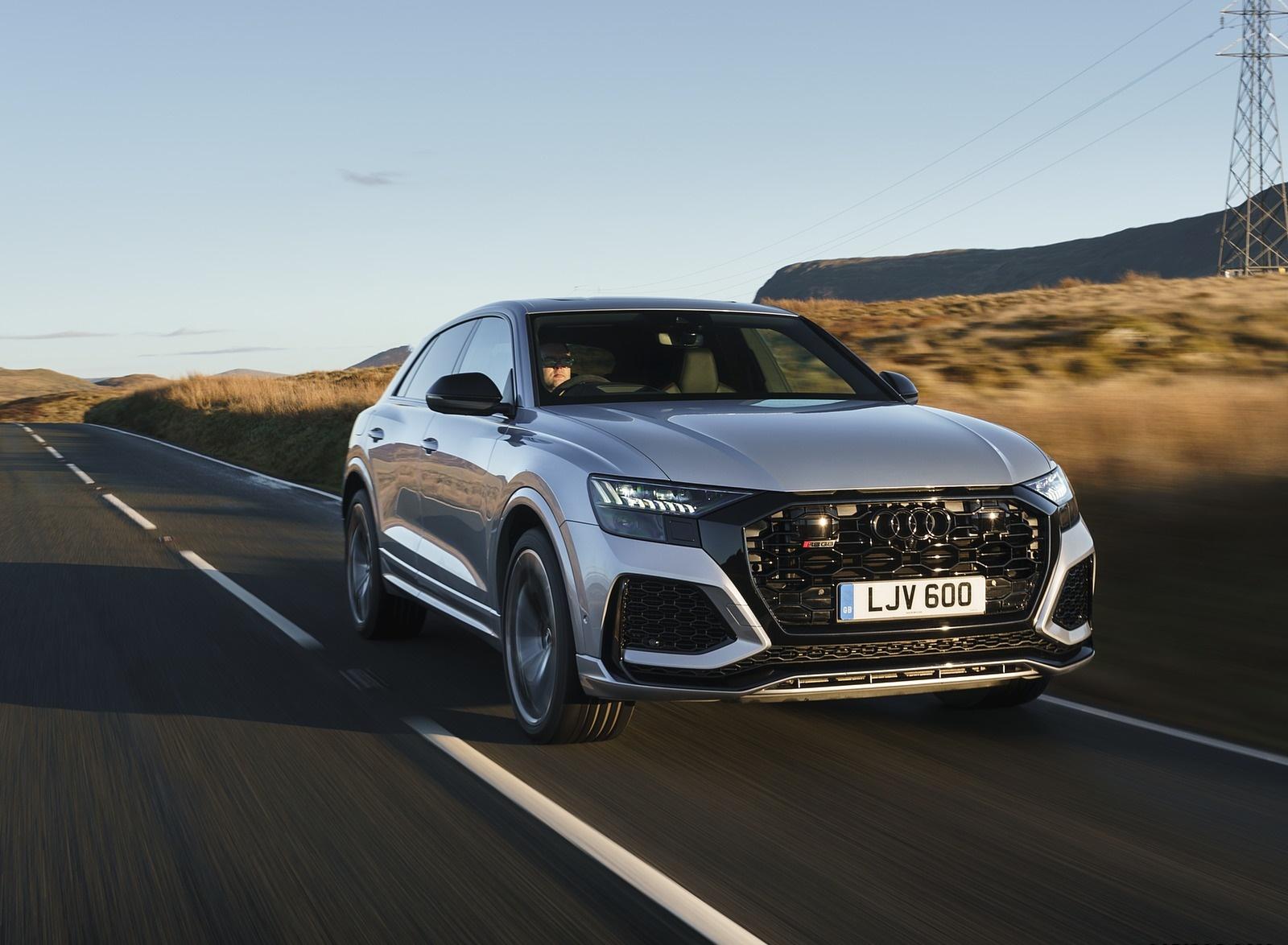 2020 Audi RS Q8 (UK-Spec) Front Three-Quarter Wallpapers (3)