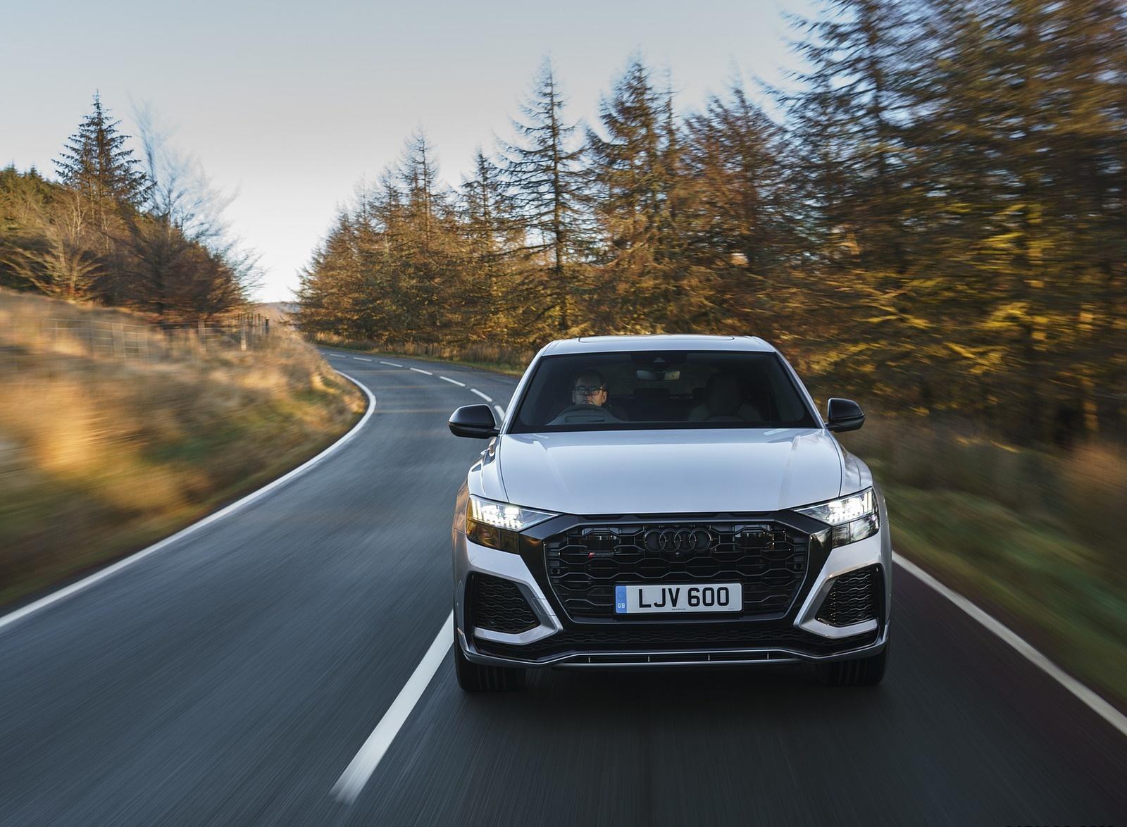 2020 Audi RS Q8 (UK-Spec) Front Wallpapers (6)