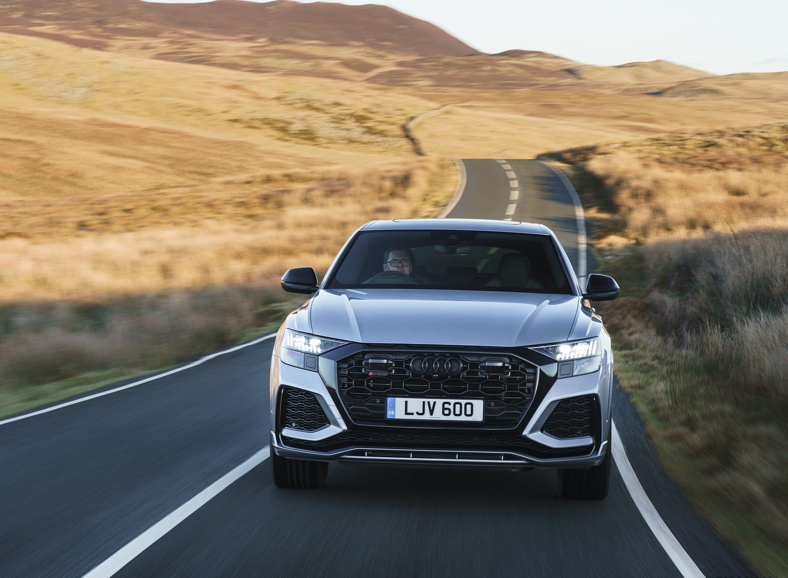 2020 Audi RS Q8 (UK-Spec) Front Wallpapers (7)
