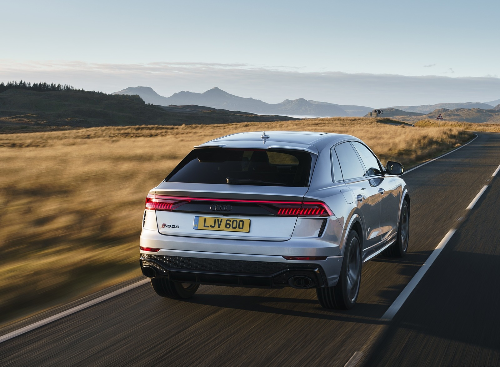 2020 Audi RS Q8 (UK-Spec) Rear Wallpapers (9)