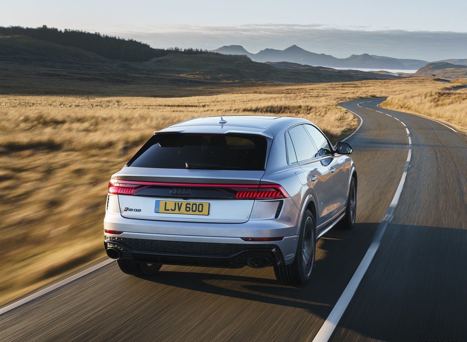 2020 Audi RS Q8 (UK-Spec) Rear Wallpapers (10)