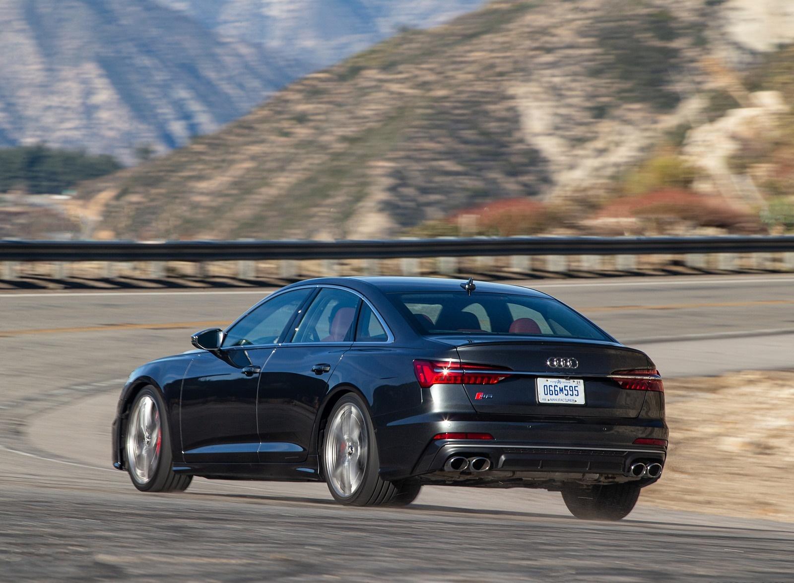 2020 Audi S6 (US-Spec) Rear Three-Quarter Wallpapers (5)
