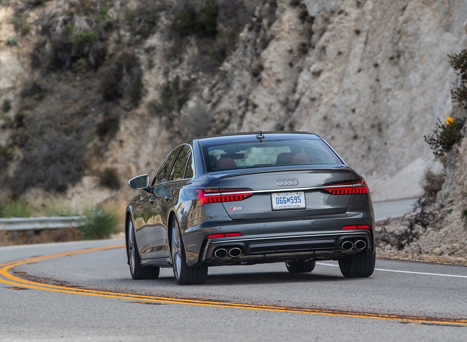 2020 Audi S6 (US-Spec) Rear Wallpapers (6)