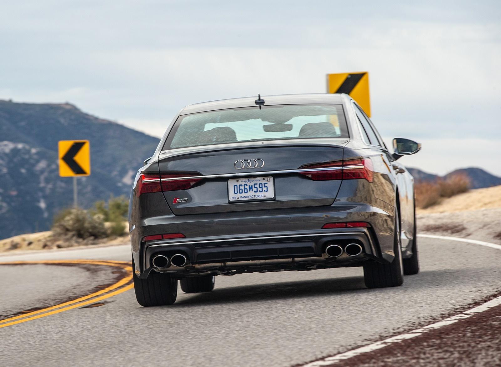2020 Audi S6 (US-Spec) Rear Wallpapers (7)