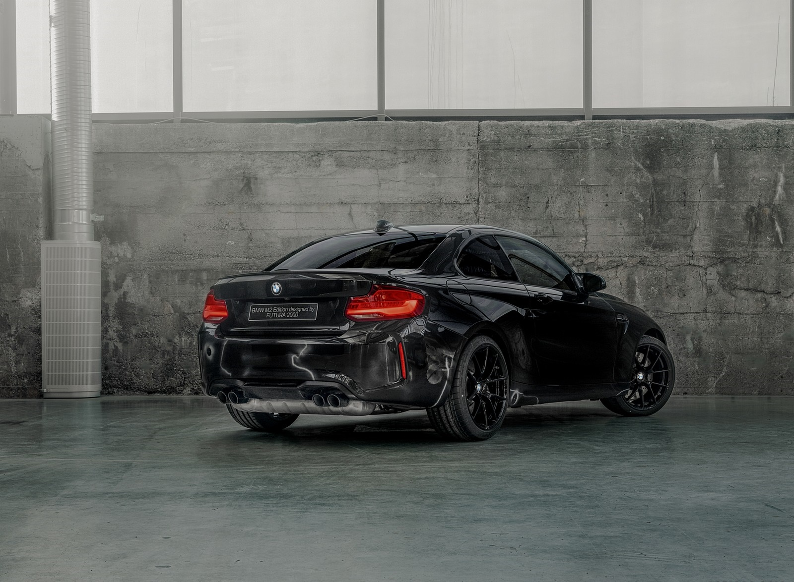 2020 BMW M2 Competition by FUTURA 2000 Rear Three-Quarter Wallpapers (9)