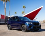 2020 BMW X5 M Competition (Color: Tanzanit Blue Metallic US-Spec) Front Three-Quarter Wallpapers 150x120 (49)