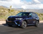 2020 BMW X5 M Competition (Color: Tanzanit Blue Metallic US-Spec) Front Three-Quarter Wallpapers 150x120 (19)