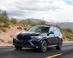 2020 BMW X5 M Competition (Color: Tanzanit Blue Metallic US-Spec) Front Three-Quarter Wallpapers 150x120 (13)