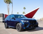 2020 BMW X5 M Competition (Color: Tanzanit Blue Metallic US-Spec) Front Three-Quarter Wallpapers 150x120 (50)