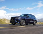 2020 BMW X5 M Competition (Color: Tanzanit Blue Metallic US-Spec) Front Three-Quarter Wallpapers 150x120 (20)