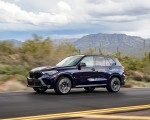 2020 BMW X5 M Competition (Color: Tanzanit Blue Metallic US-Spec) Front Three-Quarter Wallpapers 150x120 (14)