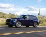 2020 BMW X5 M Competition (Color: Tanzanit Blue Metallic US-Spec) Front Three-Quarter Wallpapers 150x120 (21)