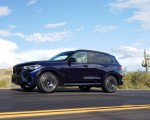 2020 BMW X5 M Competition (Color: Tanzanit Blue Metallic US-Spec) Front Three-Quarter Wallpapers 150x120 (22)