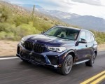 2020 BMW X5 M Competition (Color: Tanzanit Blue Metallic US-Spec) Front Three-Quarter Wallpapers 150x120 (16)