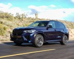 2020 BMW X5 M Competition (Color: Tanzanit Blue Metallic US-Spec) Front Three-Quarter Wallpapers 150x120 (31)