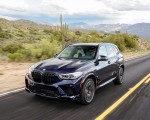2020 BMW X5 M Competition (Color: Tanzanit Blue Metallic US-Spec) Front Three-Quarter Wallpapers 150x120 (24)