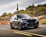 2020 BMW X5 M Competition (Color: Tanzanit Blue Metallic US-Spec) Front Three-Quarter Wallpapers 150x120 (2)