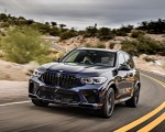 2020 BMW X5 M Competition (Color: Tanzanit Blue Metallic; US-Spec) Front Wallpapers 150x120 (3)