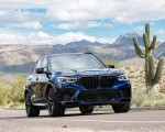 2020 BMW X5 M Competition (Color: Tanzanit Blue Metallic; US-Spec) Front Wallpapers 150x120 (48)