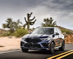 2020 BMW X5 M Competition (Color: Tanzanit Blue Metallic; US-Spec) Front Wallpapers 150x120 (18)