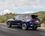 2020 BMW X5 M Competition (Color: Tanzanit Blue Metallic US-Spec) Rear Three-Quarter Wallpapers 150x120 (32)