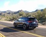 2020 BMW X5 M Competition (Color: Tanzanit Blue Metallic US-Spec) Rear Three-Quarter Wallpapers 150x120 (33)