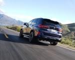 2020 BMW X5 M Competition (Color: Tanzanit Blue Metallic US-Spec) Rear Three-Quarter Wallpapers 150x120 (27)