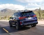 2020 BMW X5 M Competition (Color: Tanzanit Blue Metallic US-Spec) Rear Three-Quarter Wallpapers 150x120 (36)
