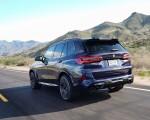 2020 BMW X5 M Competition (Color: Tanzanit Blue Metallic US-Spec) Rear Three-Quarter Wallpapers 150x120 (29)