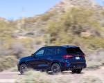 2020 BMW X5 M Competition (Color: Tanzanit Blue Metallic US-Spec) Rear Three-Quarter Wallpapers 150x120 (47)