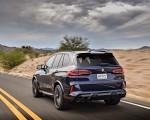 2020 BMW X5 M Competition (Color: Tanzanit Blue Metallic US-Spec) Rear Three-Quarter Wallpapers 150x120 (5)