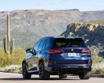 2020 BMW X5 M Competition (Color: Tanzanit Blue Metallic US-Spec) Rear Wallpapers 150x120 (46)