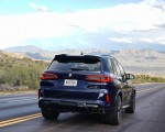 2020 BMW X5 M Competition (Color: Tanzanit Blue Metallic; US-Spec) Rear Wallpapers 150x120 (6)