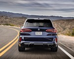 2020 BMW X5 M Competition (Color: Tanzanit Blue Metallic; US-Spec) Rear Wallpapers 150x120 (7)