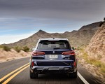 2020 BMW X5 M Competition (Color: Tanzanit Blue Metallic; US-Spec) Rear Wallpapers 150x120 (8)