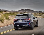 2020 BMW X5 M Competition (Color: Tanzanit Blue Metallic US-Spec) Rear Wallpapers 150x120 (9)