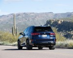 2020 BMW X5 M Competition (Color: Tanzanit Blue Metallic; US-Spec) Rear Wallpapers 150x120 (45)