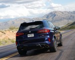 2020 BMW X5 M Competition (Color: Tanzanit Blue Metallic US-Spec) Rear Wallpapers 150x120 (10)