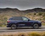 2020 BMW X5 M Competition (Color: Tanzanit Blue Metallic US-Spec) Side Wallpapers 150x120 (11)