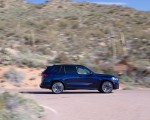 2020 BMW X5 M Competition (Color: Tanzanit Blue Metallic; US-Spec) Side Wallpapers 150x120 (42)