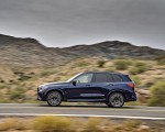2020 BMW X5 M Competition (Color: Tanzanit Blue Metallic; US-Spec) Side Wallpapers 150x120 (12)
