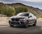 2020 BMW X6 M Competition (Color: Ametrine Metallic; US-Spec) Front Three-Quarter Wallpapers 150x120 (3)