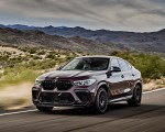 2020 BMW X6 M Competition (Color: Ametrine Metallic; US-Spec) Front Three-Quarter Wallpapers 150x120 (40)