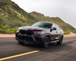 2020 BMW X6 M Competition (Color: Ametrine Metallic; US-Spec) Front Three-Quarter Wallpapers 150x120 (21)